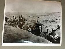 ww2 photo press US Army , Marines advance on Iwo Jima  1945   A101