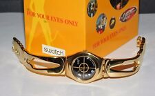 """TRAUMHAFT: SWATCH JAMES BOND 007 """"FOR YOUR EYES ONLY"""" NEU TOP OVP"""