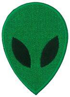 Écusson patche Alien extra terrestre martien thermocollant badge patch brodé