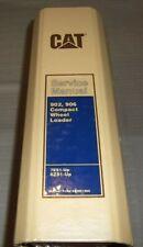 Cat Caterpillar 902 906 Wheel Loader Service Shop Repair Manual Book Sn 7es 6zs
