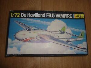 L180 Heller Model Kit 283 - De Havilland FB 5 Vampire - 1/72
