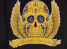 Steve Hester Deja Voodoo VOW Tour Graphic Skull T Shirt Black XL concert militar