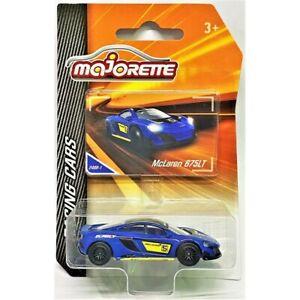 MAJORETTE McLAREN 675 LT 1/64 Racing Cars Theme NUOVA NEW SEALED