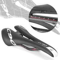 EVO MTB Bicycle Cushion Seat Road Bike Accessories+Bicycle Saddle Carbon Fiber