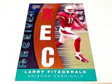 Larry Fitzgerald 2007 Topps Performance Copper 2cl.Triple Game Worn Jersey #/50