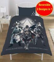 Offiziell Assassins Creed Odyssee Einzeln Bettdecke Bettbezug Set Jungen Kinder