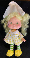 "Vintage 1980s Strawberry Shortcake 6"" Lemon Meringue Doll Toy Figure By Kenner"