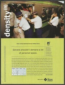 SUN microsystems-Netra X1 Rack-Optimized Services Platform Server-2001 Print Ad