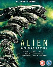 Alien: 6-Film Collection (Blu-ray) Sigourney Weaver, John Hurt, Michael Biehn
