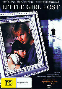 Little Girl Lost DVD True Story Drama 1988 Rare Movie - Tess Harper - AUST REG 4