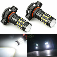 JDM ASTAR 2x 1200LM 5202 H16 LED Fog Light Driving Bulbs Xenon White 6000K 2828