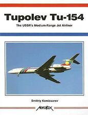 TUPOLEV TU-154 THE USSR'S MEDIUM RANGE JET AIRLINER