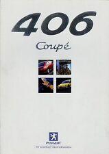 PEUGEOT 406 Coupé prospetto 7/99 auto PROSPEKT 1999 opuscolo brochure brosjyre