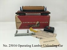 1957-1960 American Flyer #25016 Southern Pacific Operating Lumber Unloading Car