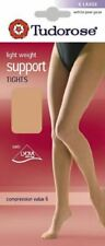 2 Pairs Tudorose Light Weight Support Tights Compression Value 6 -M, L, XL