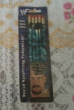 1998 Titan Sports WWF WWE Wrestling Pencil Pack of 5 Stone Cold & Rock RARE VHTF