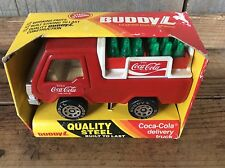 Vintage 1983 Buddy - L Metal Coke Delivery Truck 420 L In Box