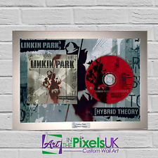 Linkin Park - Hybrid Theory CD Frame Presentation Rare Custom