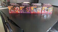 Transformers Generations G1 Walmart Retro Reissue Headmaster Wave 1 Set Lot 4