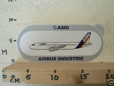 STICKER,DECAL A320 AIRBUS INDUSTRIE AIRPLANE AIRLINE