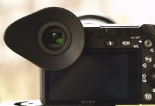 Rubber Eyecup Soft for Sony A6500 GREAT FOR VIDEO!