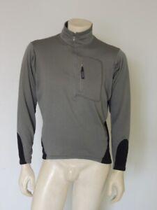 Patagonia Men's Regulator R1 Flash Pullover Fleece Jacket Green DISTRESS MEDIUM