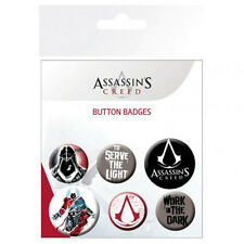 Assassin's Creed - Button Badge Set (6 Badges) - GIFT