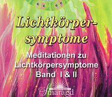 LICHTKÖRPERSYMPTOME - Meditationen mit Andrea Kraus - 2 CD SET Smaragd Verlag