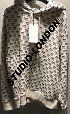 Logo de Gucci Micro todo sello grabado de gran tamaño de Sudadera Con Capucha Talla M Poco común