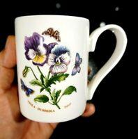 Beautiful Portmeirion Botanic Garden Pansy Mug