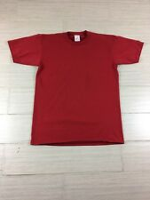 Vintage Jerzees Tee Shirt Size Medium Plane Red 50/50