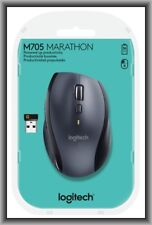 Logitech M705 Marathon, 7 Buttons Wireless Mouse in Retail Box !!!