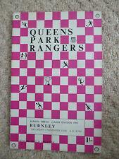 QUEENS PARK RANGERS v BURNLEY, 9th December 1968