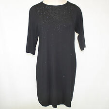 NEW NWT Karen Kane Plus Size Sparkle Beaded Little Black Dress 1X Made in USA