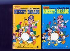 LOT 4 Albums Reliures de Mickey Parade N° 2 - 5 - 13 - 28