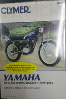 New Clymer Yamaha Service Manual DT & MX Series Singles 1977-1983