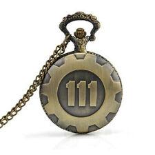 Antique Copper Hollow Hollow Quartz Pocket Watch Necklace Pendant Time Pendant