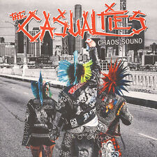 The Casualties – Chaos Sound LP / Red Vinyl / New (2016) Punk