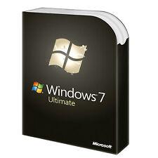 Windows 7 Ultimate SP1 32/64 bit Multilingue