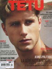 Tetu Magazine #169 August 2011 gay men CHADE ROEKAERT