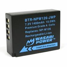 Wasabi Power Battery for Fujifilm NP-W126 and Fuji FinePix X-A1,X-M1,X-Pro1,X-T1