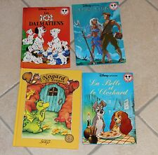 Mickey Club-Disney-101 Dalmatiens-Atlantide- La belle et le Clochard -Nogard