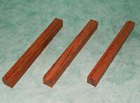 Carrelet pour stylos (lot de 3) - Courbaril - 19x19x200mm-Blank Brazilian cherry