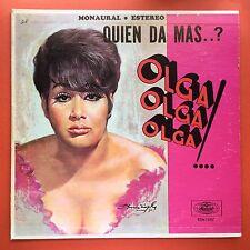 Olga Guillot Quien Da Mas Olga Olga Olga MUSART 1971 Ex