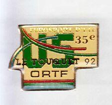 RARE PINS PIN'S .. TV RADIO ORTF FRANCE LE TOUQUET ~6J