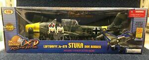 The Ultimate Soldier XD Luftwaffe Ju-87B Stuka Dive Bomber 1/18 scale No 10129
