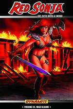 Red Sonja She Devil With a Sword Volume 9 War Season GN Linsner Dawn New NM