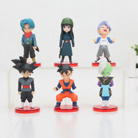 DRAGON BALL SUPER  - SET 6 FIGURAS: GOKU BLACK, TRUNKS, ZAMASU, MAI, GOHAN