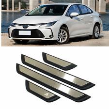 Car Accessories Door Sill Scuff Plate Guard Door Entry Pad 4pcs