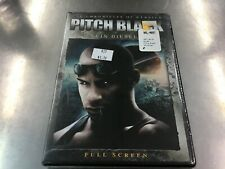 Pitch Black Dvd. Brand New Factory Sealed. Free Fast Shipping!